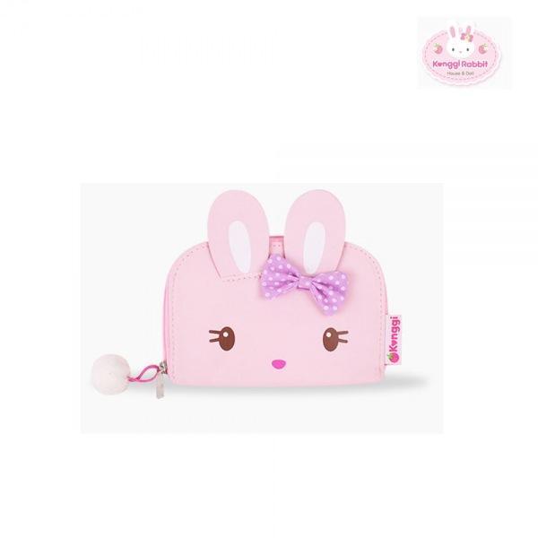 콩지래빗 핑크 손지갑 PU 유아 어린이 토끼 아기 토끼인형 동물인형 작은인형 미니인형 래빗인형