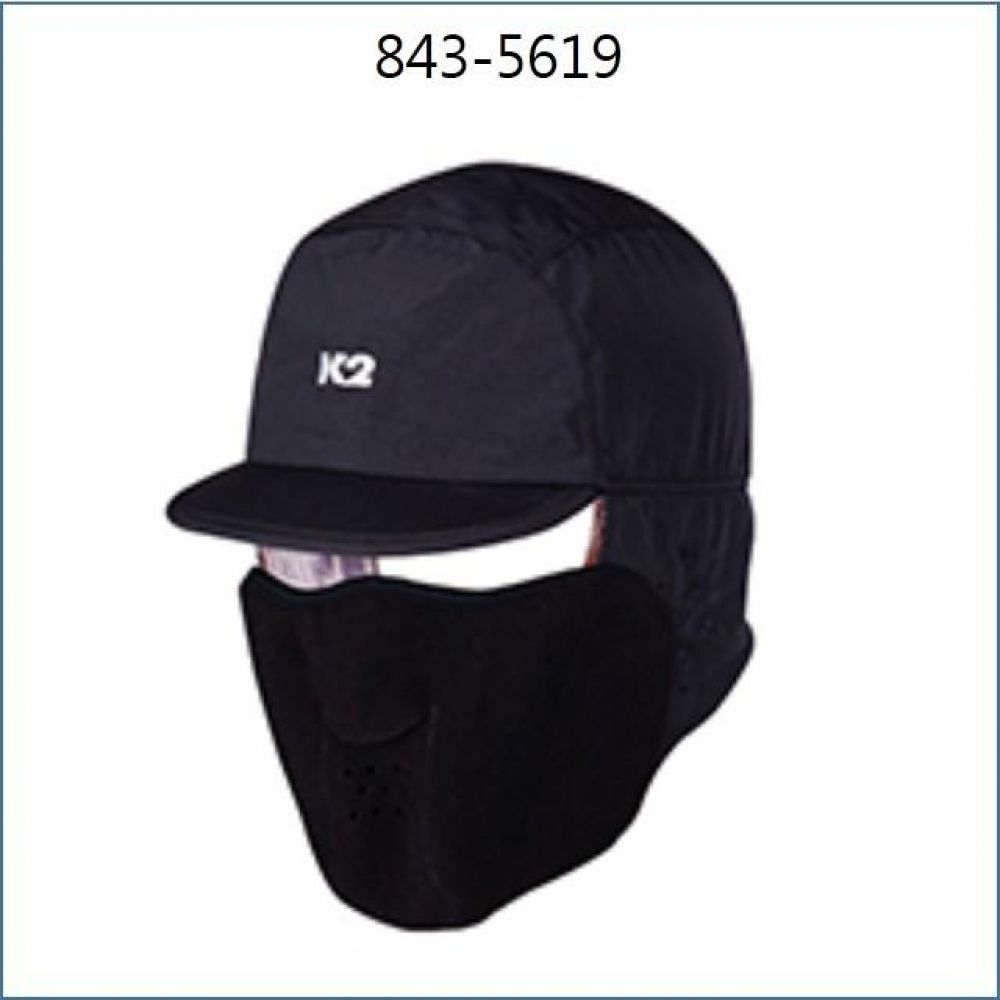 K2 방한모 방한모2 M 검정 843-5619 K2 안전용품 방한용품 방한모 방한모자 방한모M 검정방한모