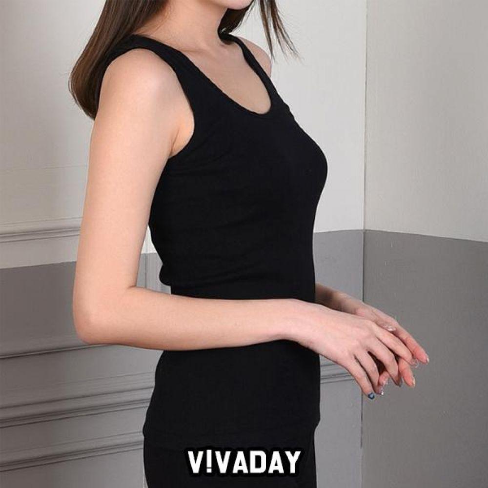 VIVADAY-SC312 골지 베이직 민자런닝 팬티 속바지 트렁크 속치마 속옷 여성속옷 남성속옷 런닝 나시 반팔