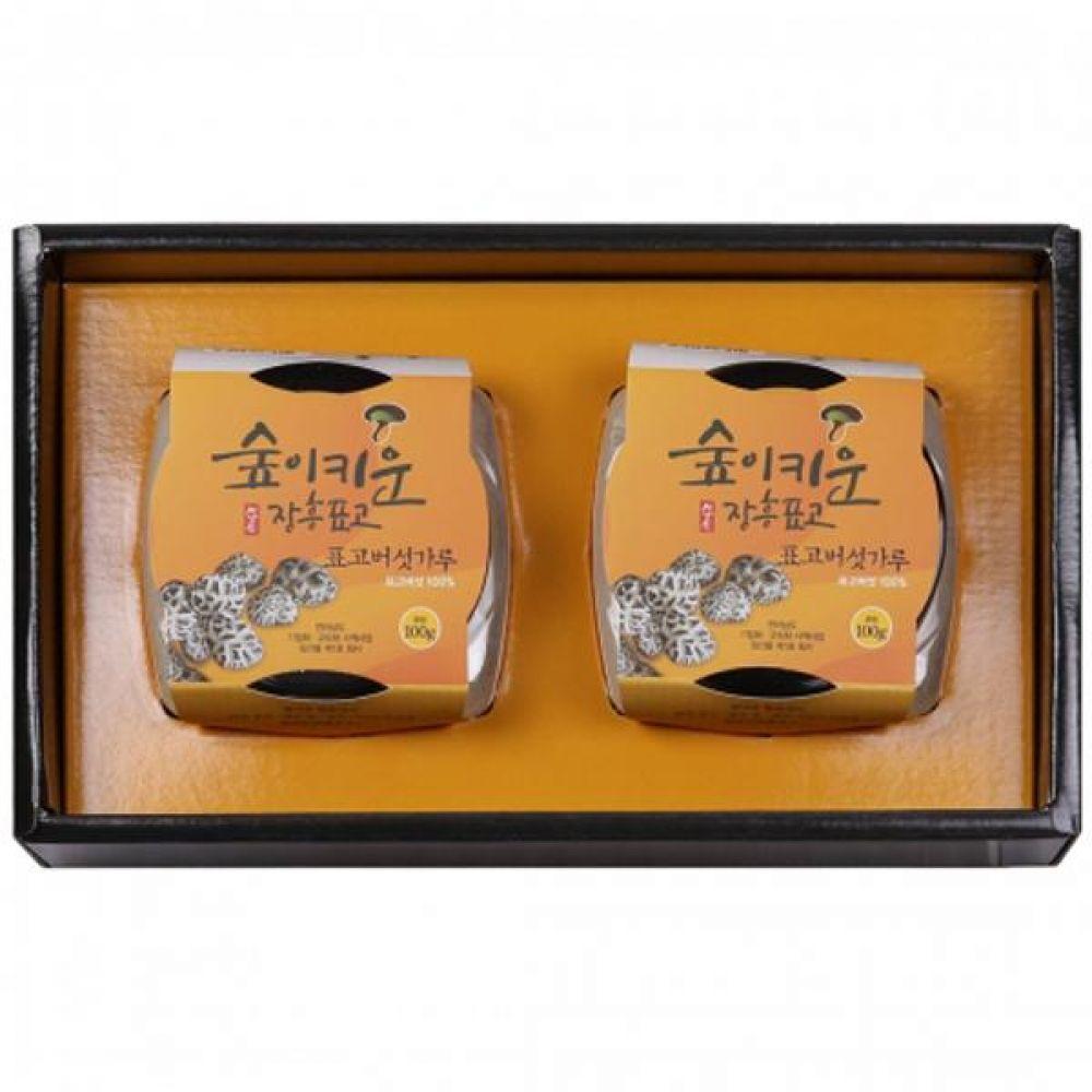 표고버섯분말세트 표고버섯가루100g2 쇼핑백포장 식품 농산물 채소 표고버섯 선물세트