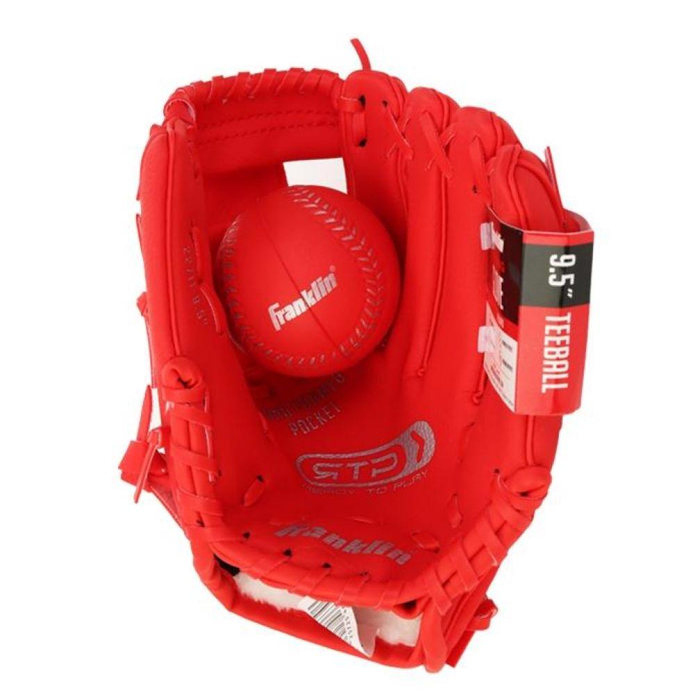 프랭클린 유소년 RTP 야구글러브 레드 600g 야구용품 야구글러브 유소년글러브 티볼글러브 유소년티볼글러브 어린이티볼글러브
