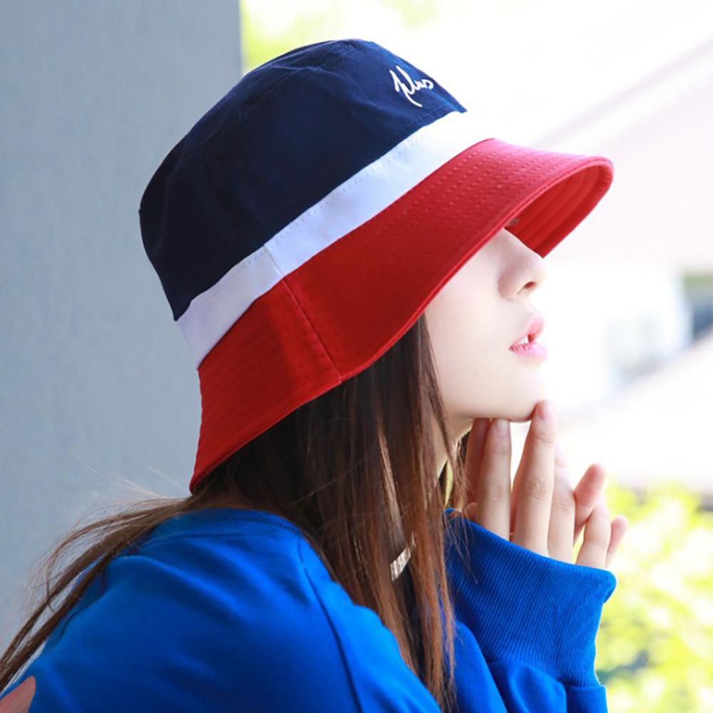 벙거지 모자 블랙 레드 중절모 버킷햇모자 여자모자
