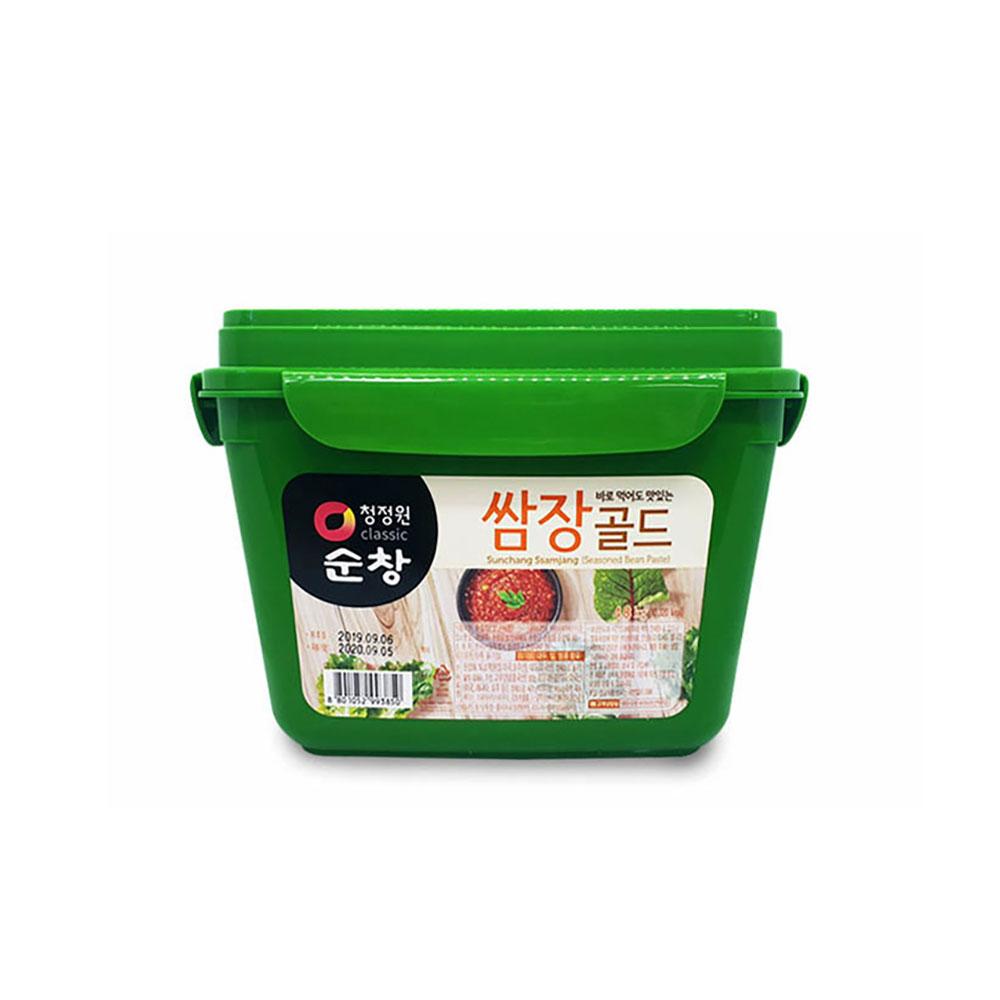 청정원 순창 쌈장골드 4.8kg 고기 양념장 대용량 찌개 된장 순창 쌈장 고추장 청정원