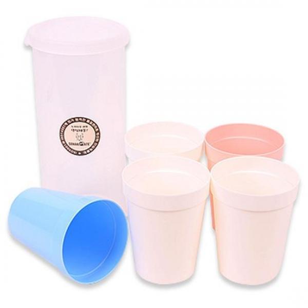 (set)캠핑볼 (대) 5P 5개 야외용컵 캠핑용컵 피크닉컵 도시락 물컵