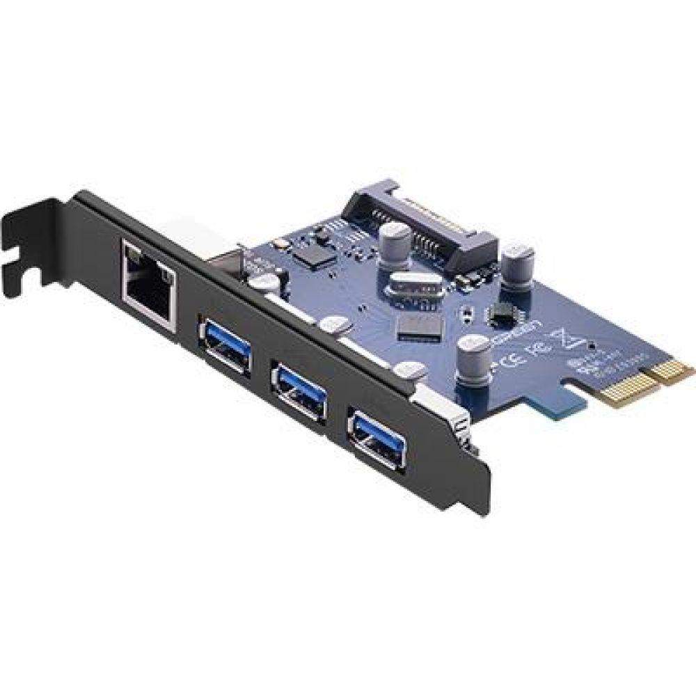 기가비트 랜 USB3.1 Gen1 3P PCI Express 카드 컴퓨터용품 PC용품 컴퓨터악세사리 컴퓨터주변용품 네트워크용품 LAN USB 랜 기가비트 GEN