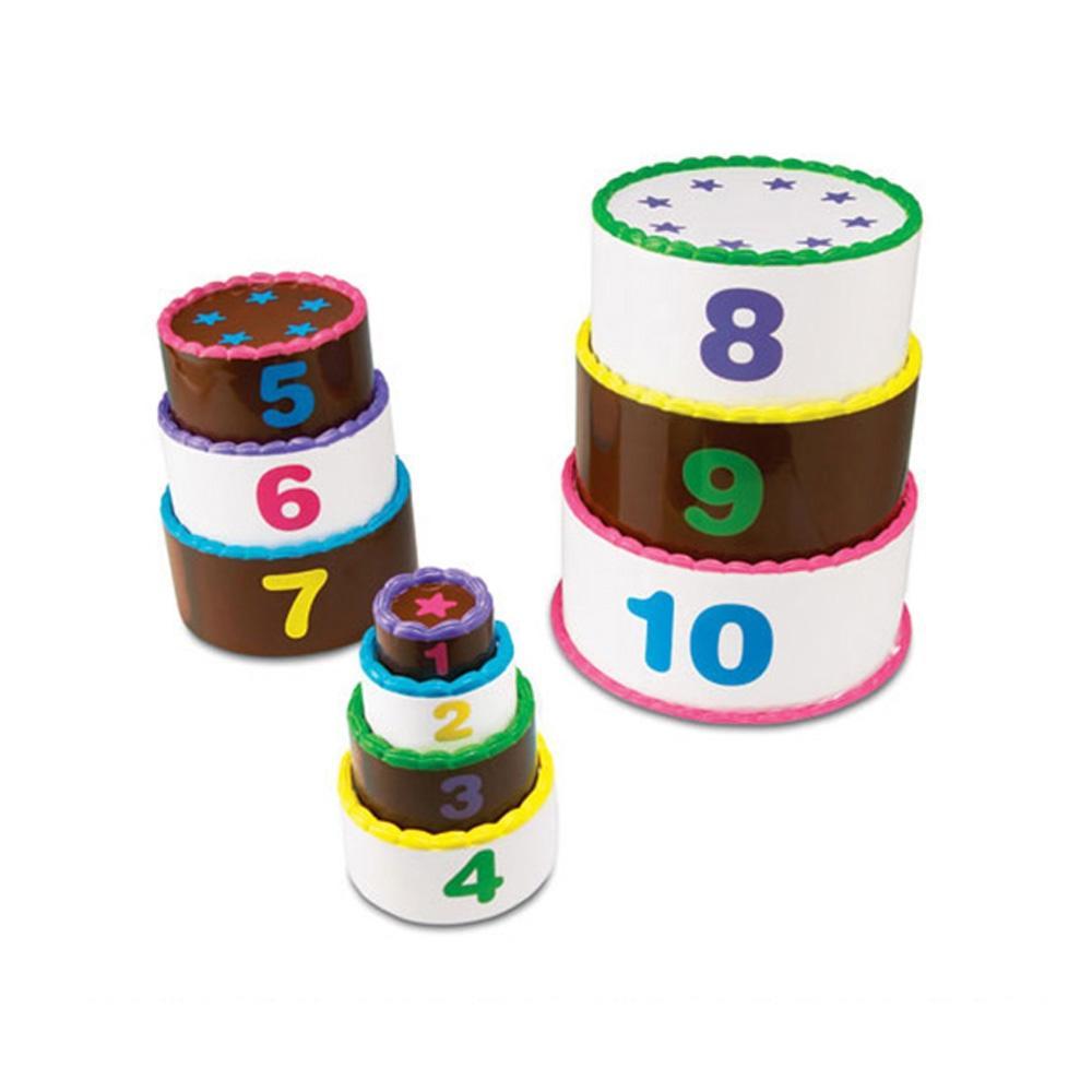 장난감 아이 학습 교구 스마트 수쌓기 케이크 어린이 퍼즐 블록 블럭 장난감 유아블럭