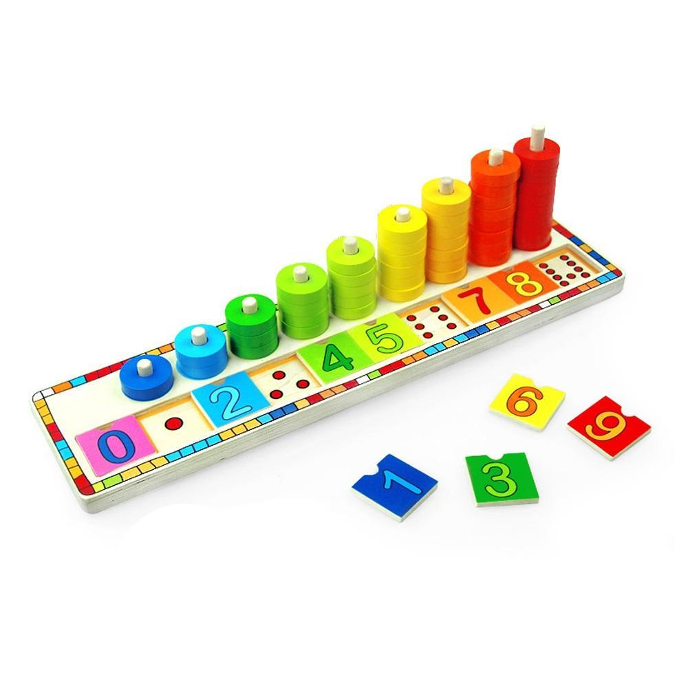놀이 4살 아이 장난감 숫자 퍼즐 하노이 탑쌓기 유아 퍼즐 블록 블럭 장난감 유아블럭