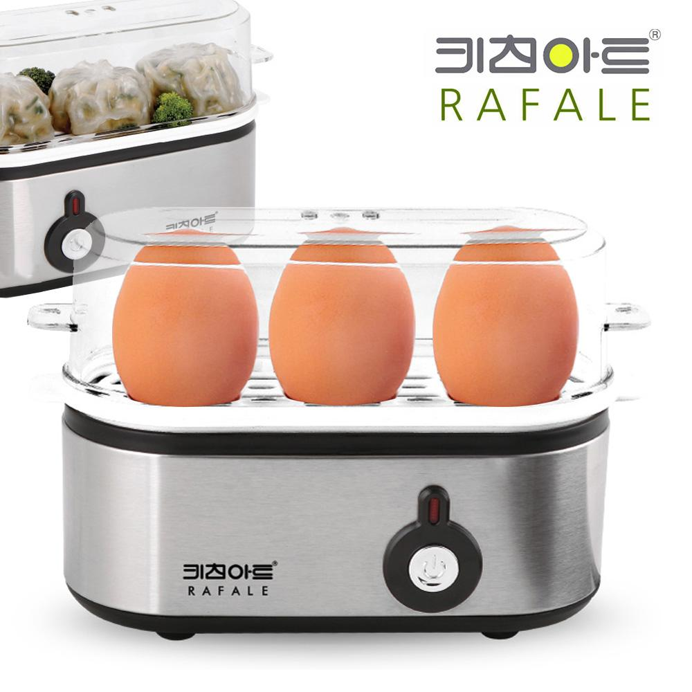 키친아트OY3 스티머 계란 만두 미니찜기 만두찜기 계란찜기 삶은달걀 스티머 스팀머