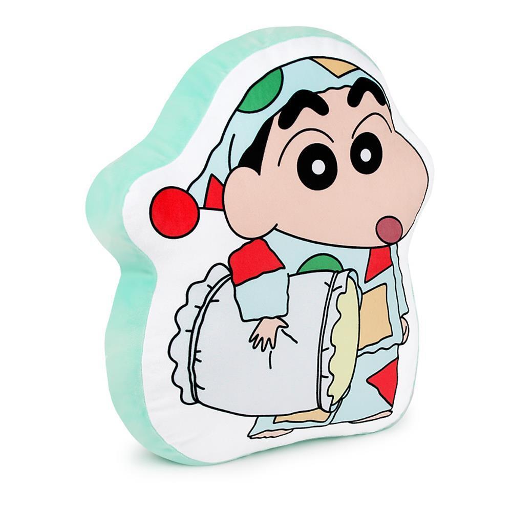 짱구파자마 라인프린트쿠션5 캐릭터쿠션 쿠션인형 캐릭터쿠션 봉제인형 쿠션인형 베개인형 인형장난감