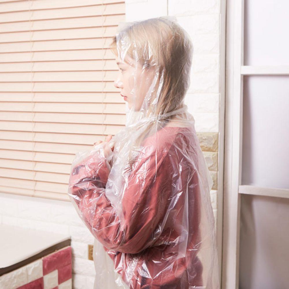 일회용 우의 화이트 우비 방수우의 비옷 생활용품 우비옷 방수우의 생활용품 우비 비옷
