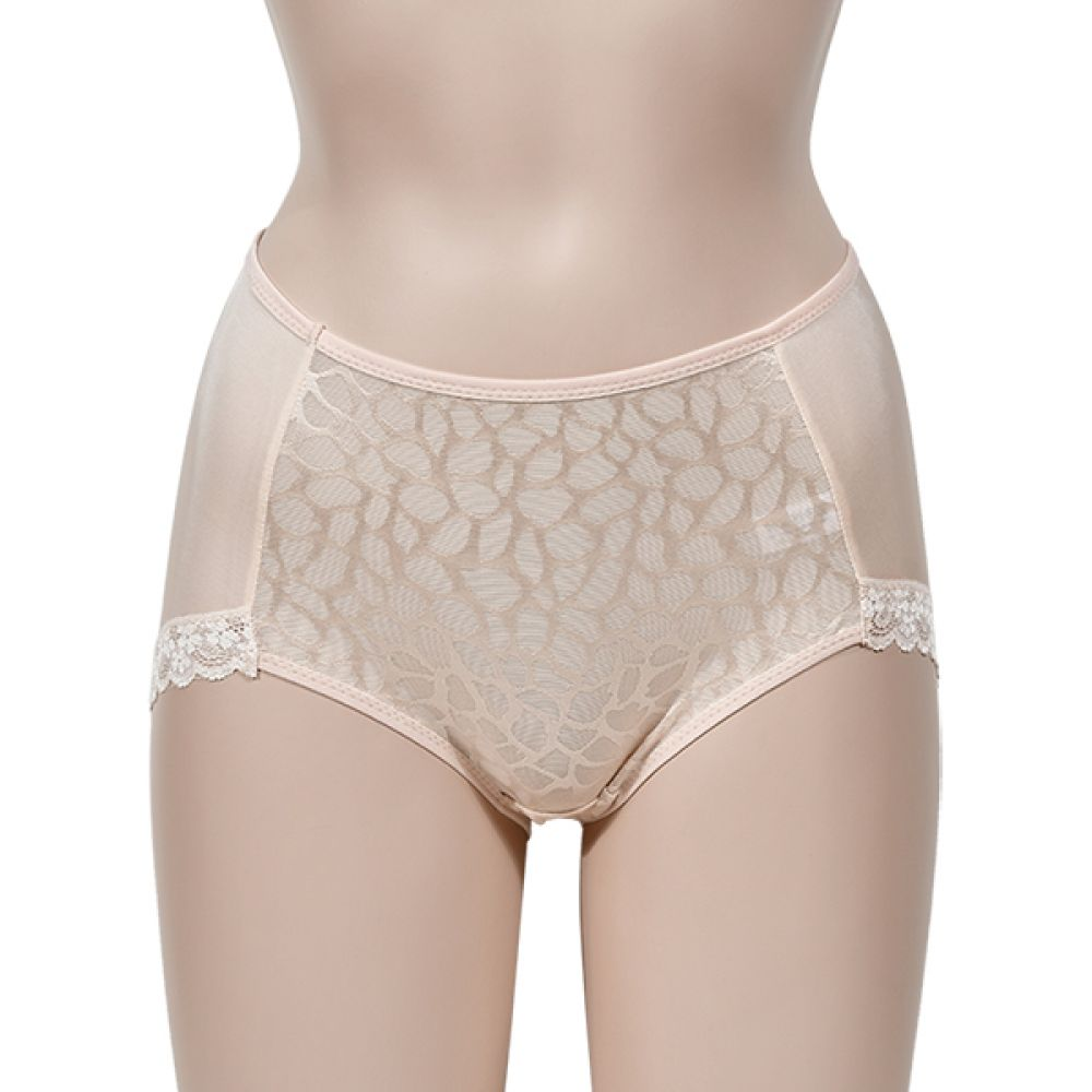 (디올라)(PT8153)레오파드 인견 여성팬티 여자속옷 여성속옷 여자팬티 여성팬티 인견