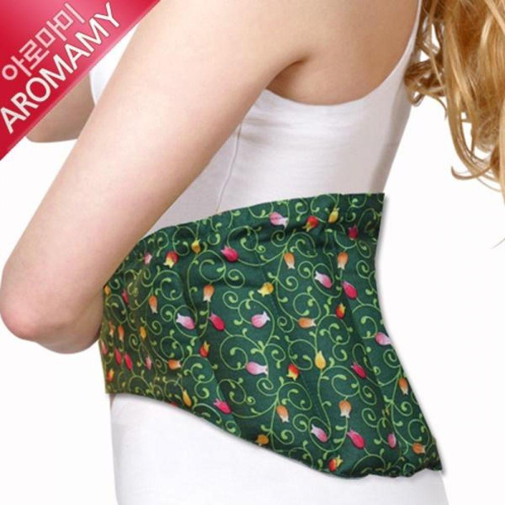 GR 허브찜질팩 허리 복부용 D형 커버포함 찜질팩 찜질용품 핫팩 냉팩 어깨찜질팩 허리찜질팩 다용도찜질팩