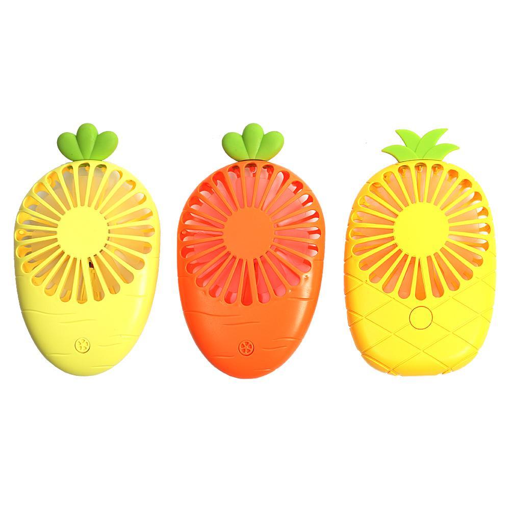 휴대용 과일 모양 미니 선풍기