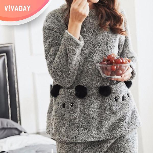 VIVA-M102 코알라 파자마세트 잠옷 홈웨어 파자마 잠옷세트 란제리 실내복 이지웨어 가운