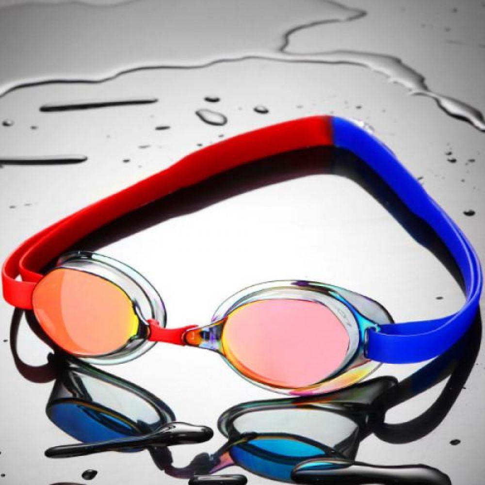 SGL-8200-RDRDBL SD7 선수용 노패킹 컬러믹스 수경 수영용품 물안경 남자수경 여자수경 성인물안경