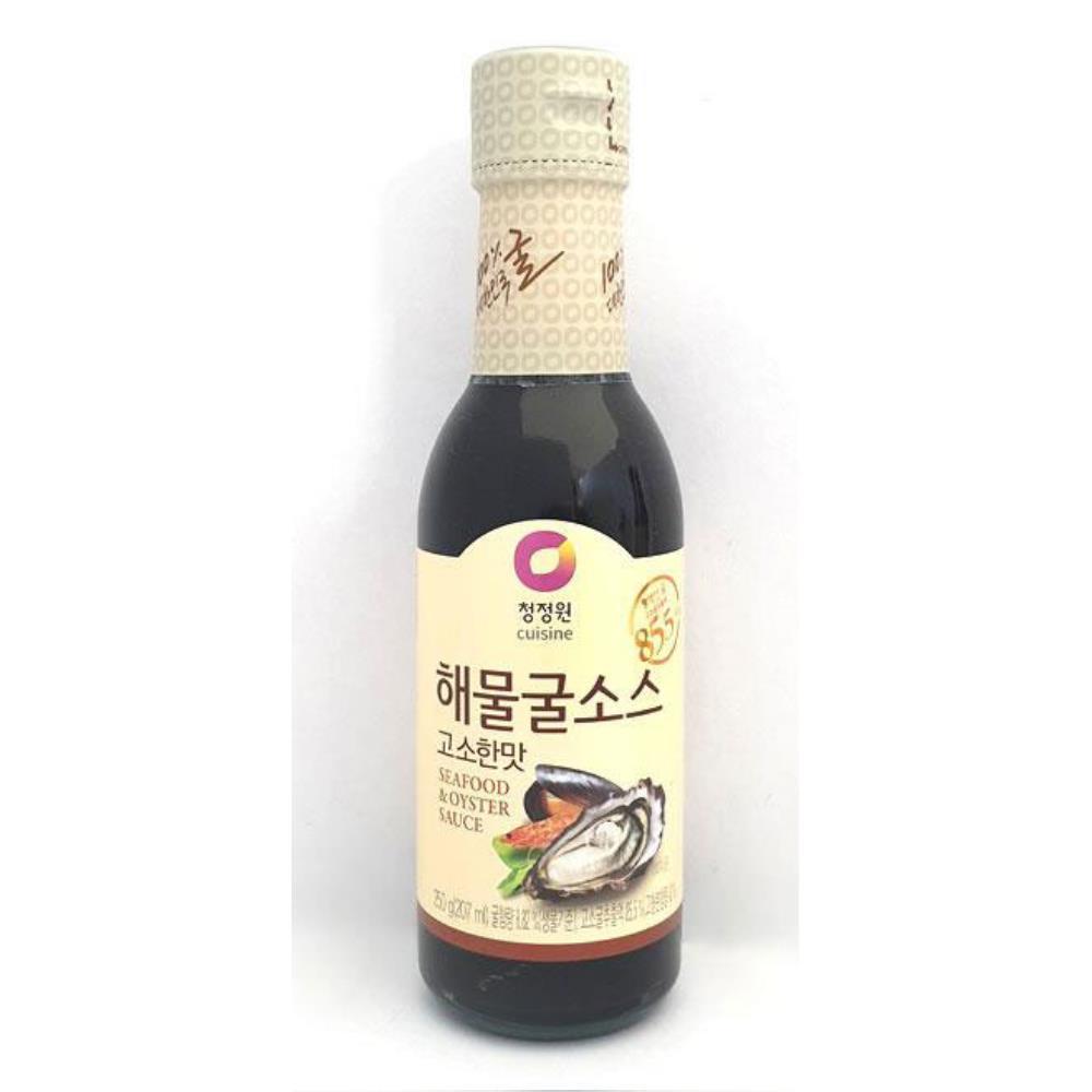 청정원 해물굴소스 250g 고소한맛 중식요리 볶음소스 중화요리소스 중화요리 맛있는밥 감칠맛 간단식사 중국요리만들기 맛있는소스 볶음밥소스 간단요리 굴소스