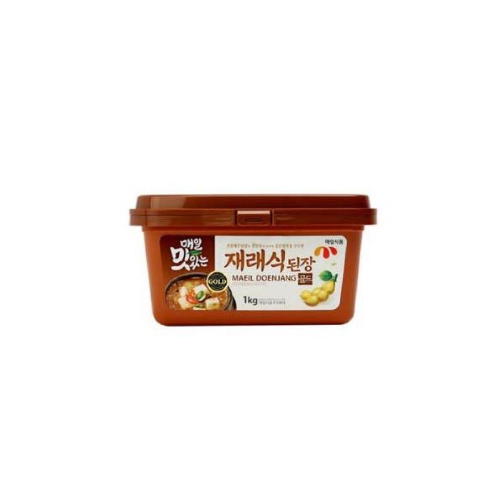 매일 맛있는 재래식된장 1kg x 12개 장 된장 고추 찌개 전통