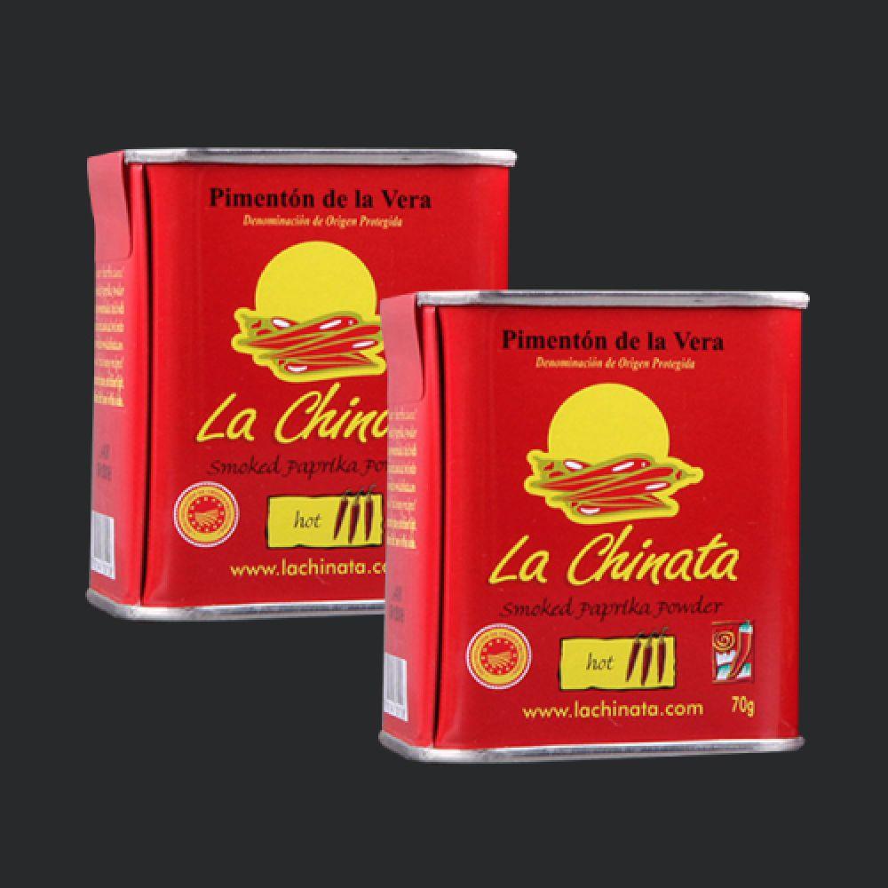 파프리카 파우더 핫 훈제 라치나타 70gX 2개 파프리카가루 파프리카파우더 파프리카향신료 스위트파프리카 핫파프리카