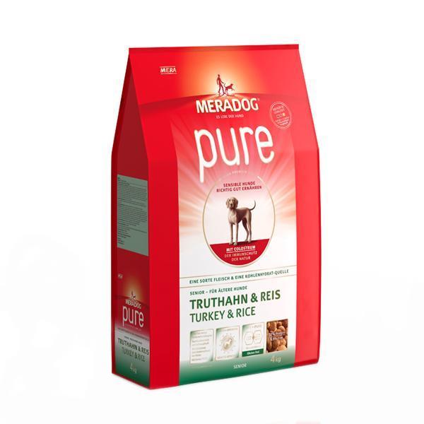 메라독 퓨어 시니어(칠면조n쌀n초유) 4kg 애완사료 건강사료 수제사료 애완용품 사료