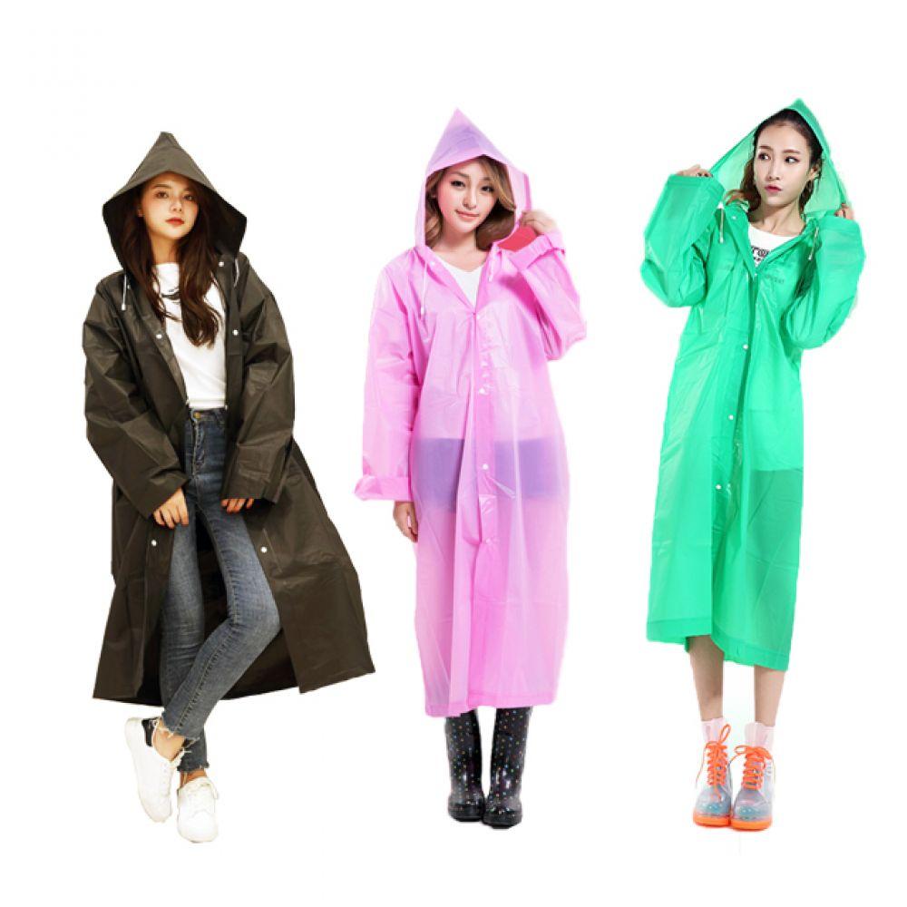 EVA 패션 레인코트 남녀공용 우비 우의 2타입 8컬러 우의우비 우비우의 우의 우비옷 우비코트 레인코트 비옷