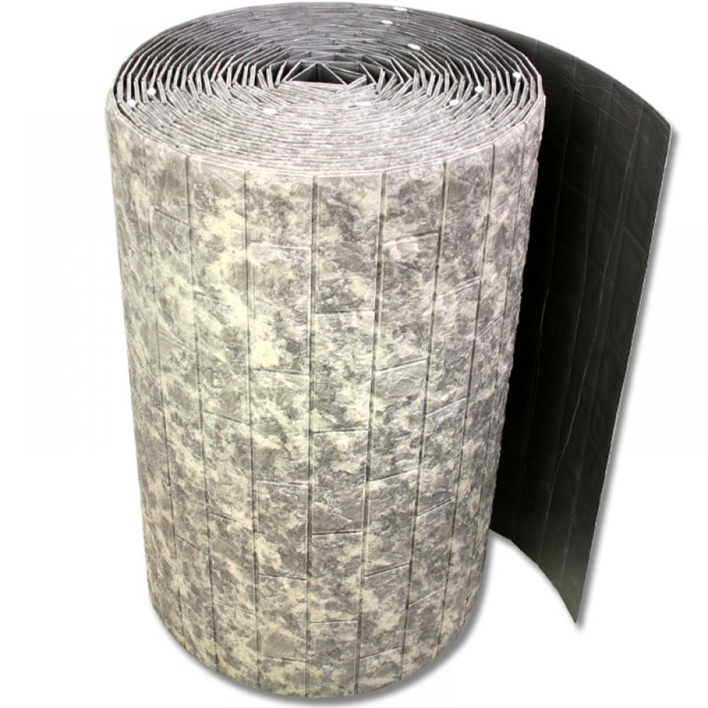 접착식 대형롤 폼블럭 벌크형 투톤그레이 폼블럭 단열벽지 시트지 벽돌폼블럭 폼벽지 접착식벽지