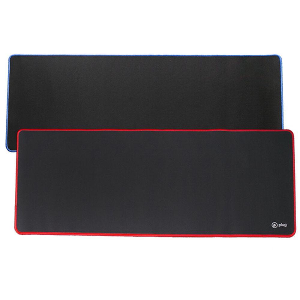 플러그 와이드 게이밍패드(BTP-002N 블루 플러그) 전산 용품 사무 오피스 pc 보조 장치 기기 게이밍패드 블루