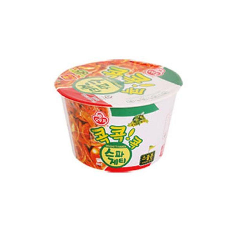 오뚜기)스파게티 용기 x 12개 라면 컵라면 사발면 간식 식사