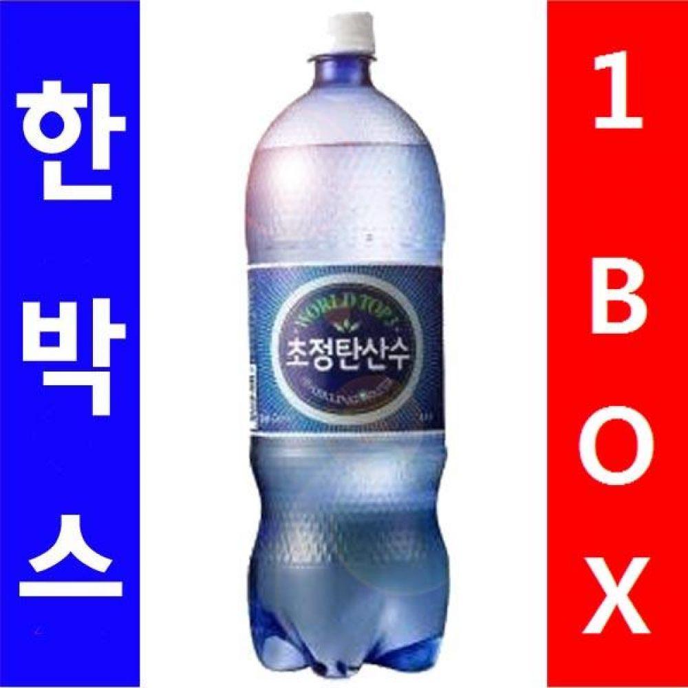 일화)초정 탄산수 1.5L 1박스(12병) 음료 여름 탄산 생수 시원 대량 도매 대량판매 세일 판매