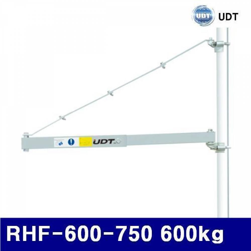 UDT 5910599 휴대용윈치걸이대 RHF-600-750 600kg 750mm (1EA) 체인블럭 호이스트 레바블럭 운반 하역 호이스트 윈치