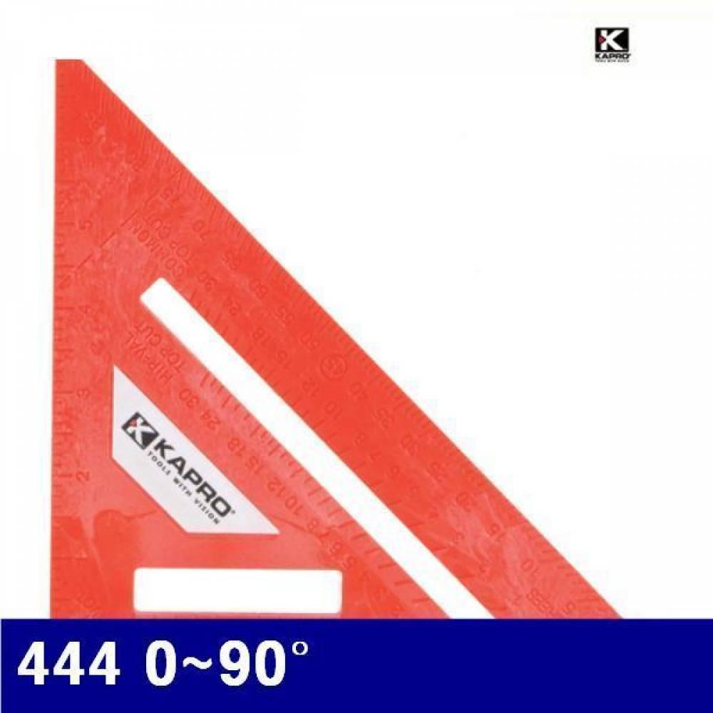 카프로 4200635 삼각각도자 444 0-90° 0-30° (1EA) 연귀자 각도계 분도기 측정공구 자 줄자 각도기 각도자