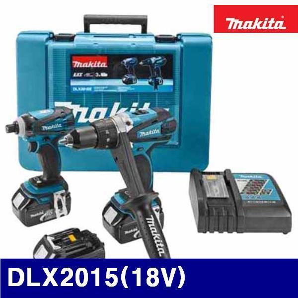마끼다 5140349 리튬이온 충전콤보세트 (단종)DLX2015(18V) (1EA) 전동 엔진 충전공구 충전드릴 마끼다 공구