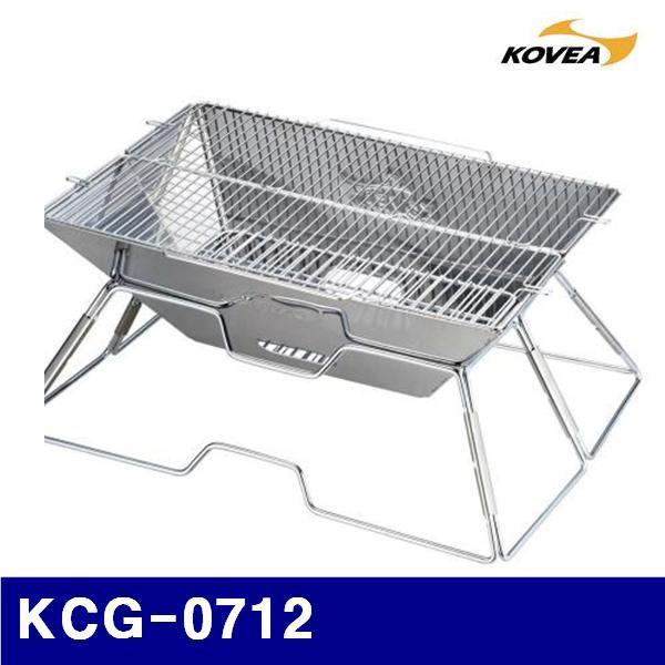 코베아 1377732 그릴 KCG-0712 360x360x220mm 360x50x200mm (1EA) 산업안전 접착 윤활 냉난방품 캠핑용품 코베아 공구