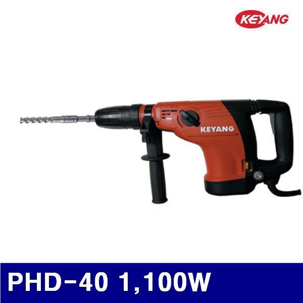 계양전기 5027163 육각 함마드릴 PHD-40 1 100W 235-500 (1EA) 전기드릴 전동드릴 해머드릴 전동 엔진 전동공구 전기드릴