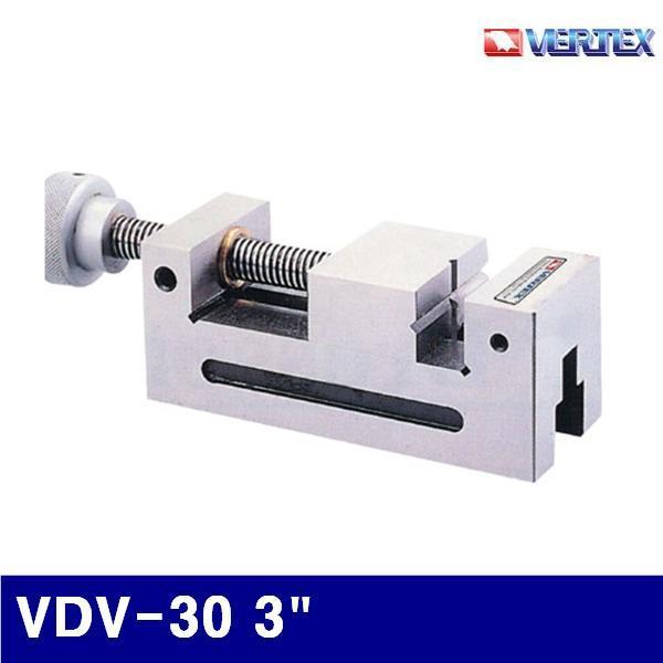 버텍스 5400490 연마바이스 VDV-30 3Inch 75x74x35mm (1EA) 탁상바이스 바이스 금형공작 절삭 초경 공작 공작 관수 바이스