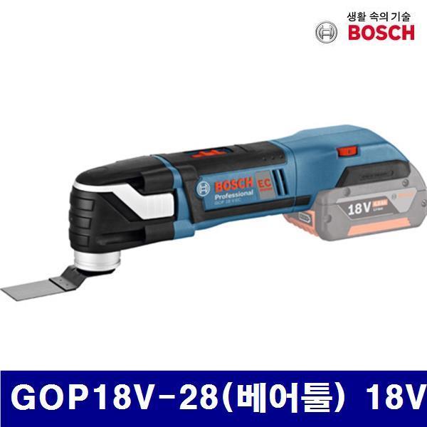 보쉬 5065109 충전만능커터-베어툴(리튬이온) GOP18V-28(베어툴) 18V 0.8kg (1EA) 전동 엔진 전동공구 커터기 보쉬 공구