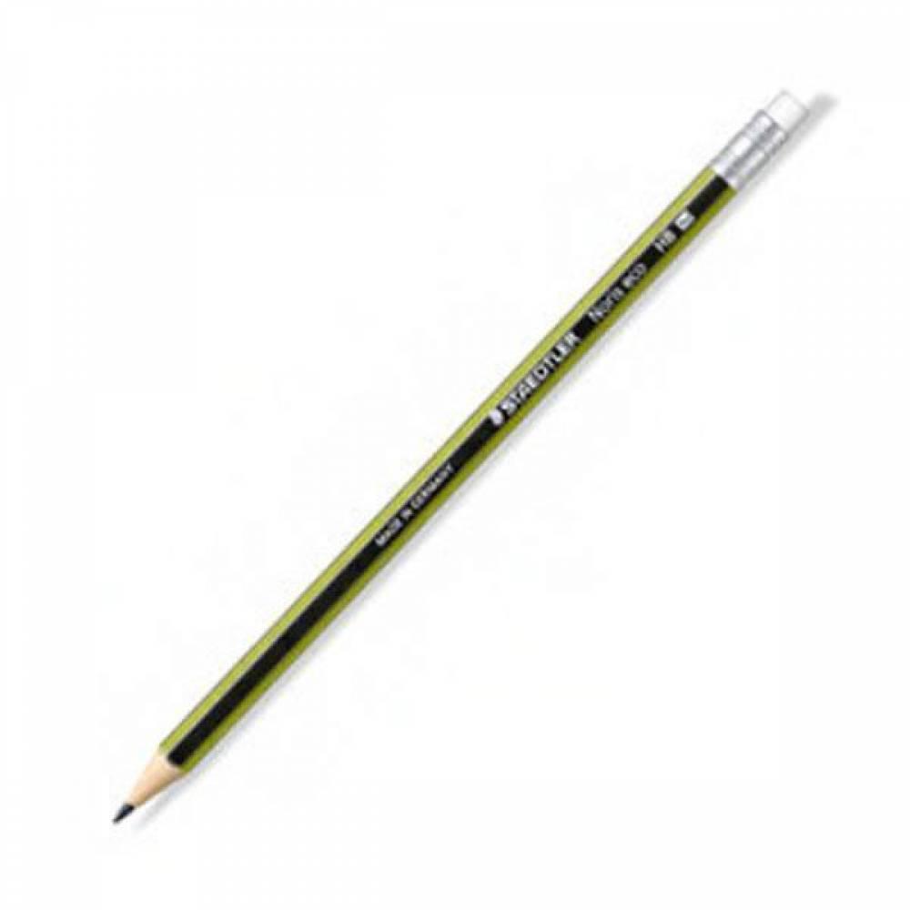 스테들러 노리스 에코 지우개 연필 HB 182 30 어린이연필 에코연필 지우개연필 부드러운연필 스테들러연필 독일연필