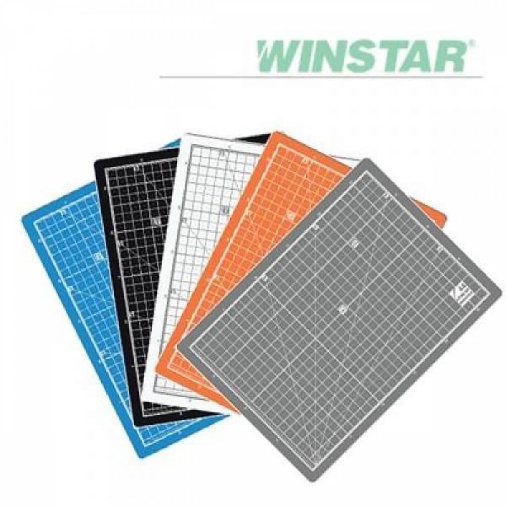 MWSHOP 윈스타 PVC 칼라 900X620 A1 데스크 커팅 매트 데스크매트/책상패드 엠더블유샵